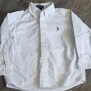 Boy's 4T Ralph Lauren White Button Down